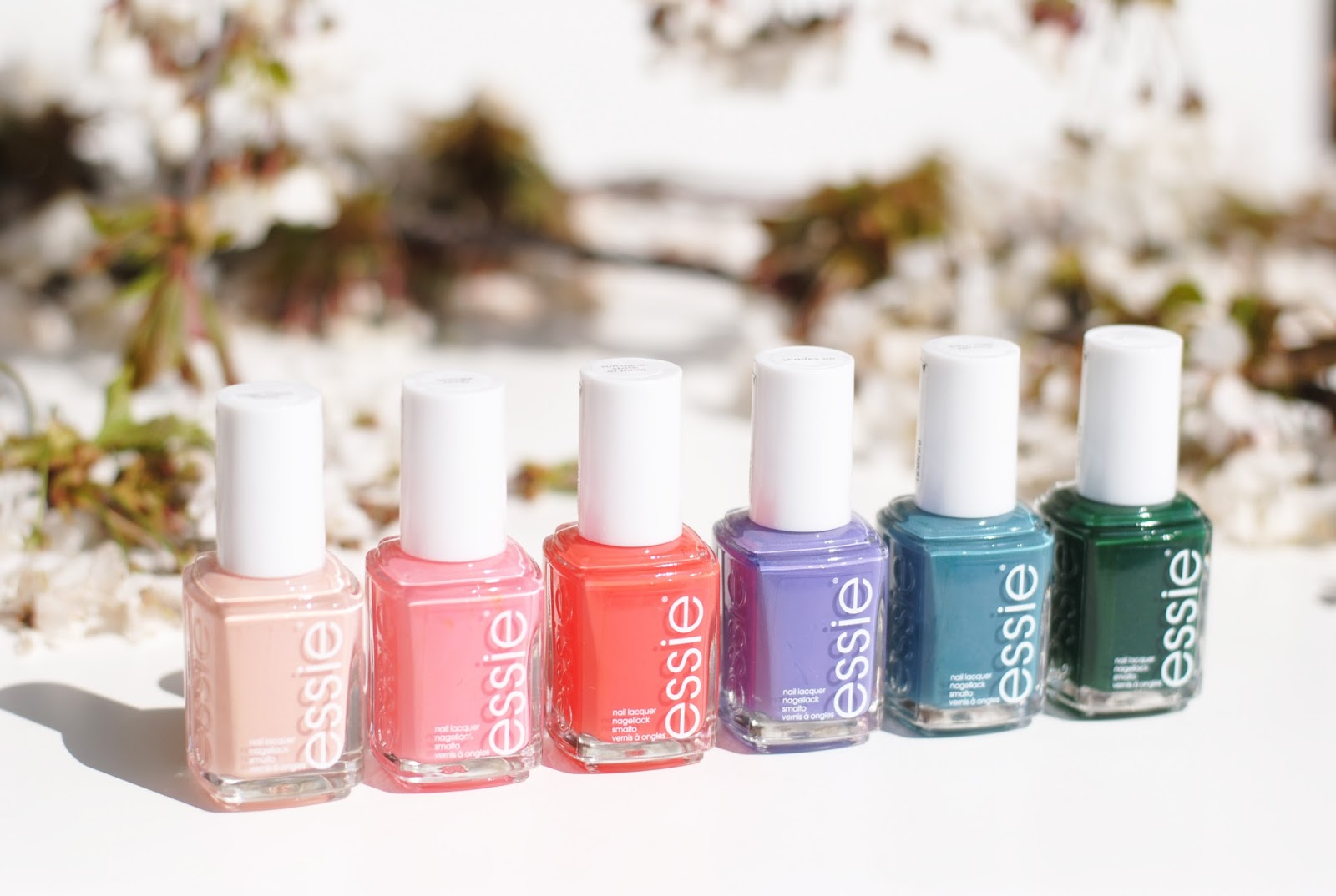 essie spring collection 2016 review