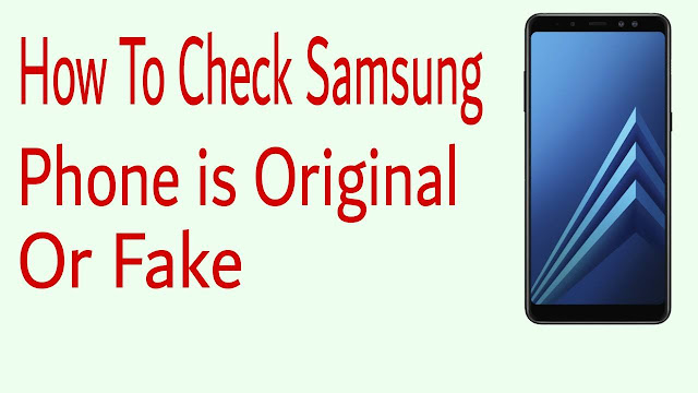 Samsung Code Check Original Mobile