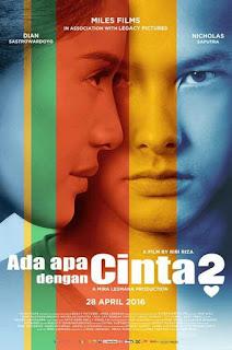 Download film Ada Apa Dengan Cinta 2 (AADC 2) (2016) DVDRIP Gratis