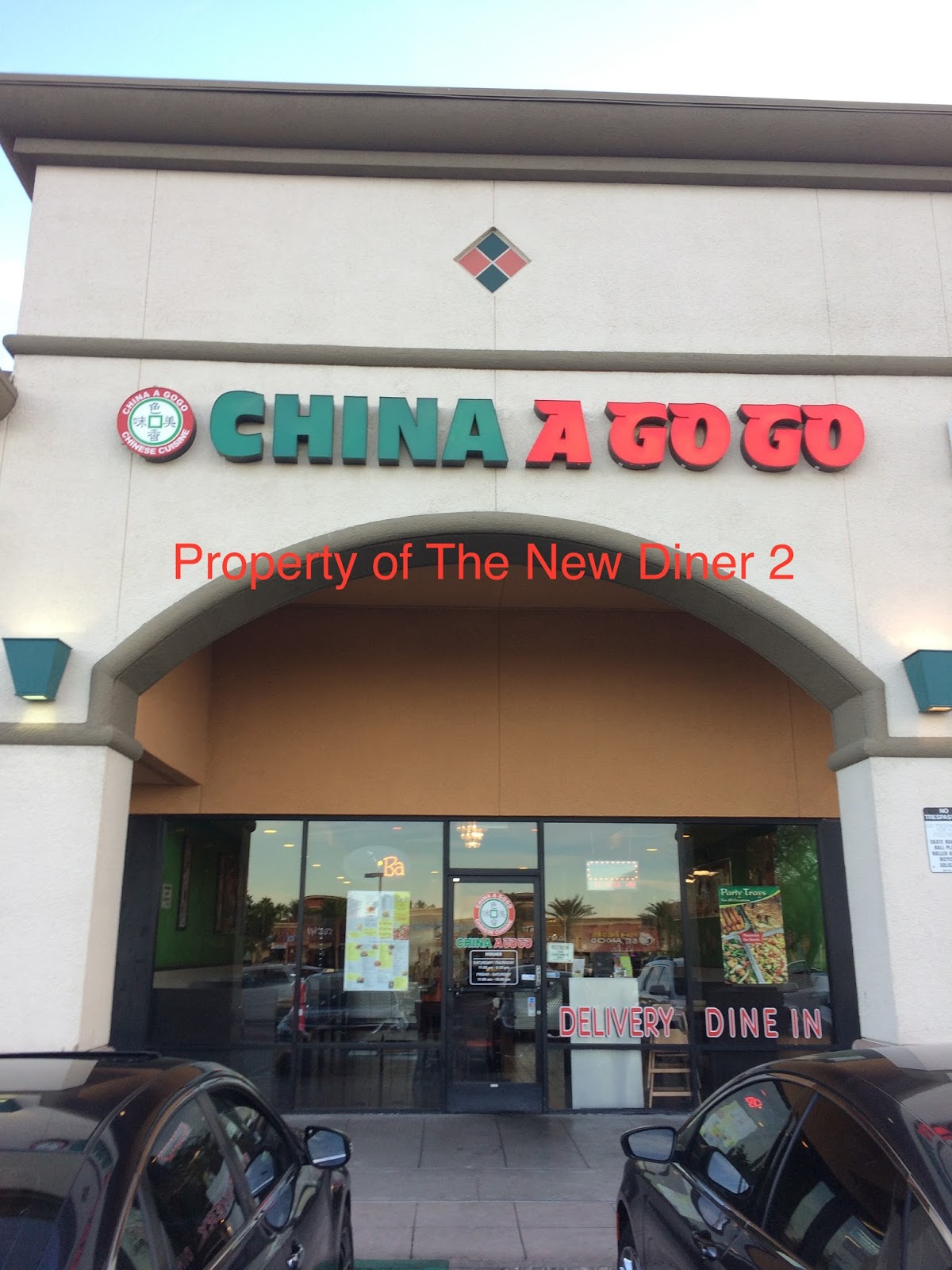 The New Diner 2 China A Go Go