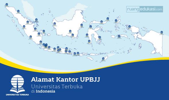 Alamat Kantor Universitas Terbuka di Indonesia