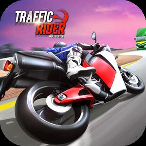 لعبة Traffic Rider مهكرة للاندرويد