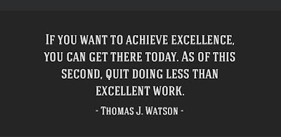 Excellence Work Quotes