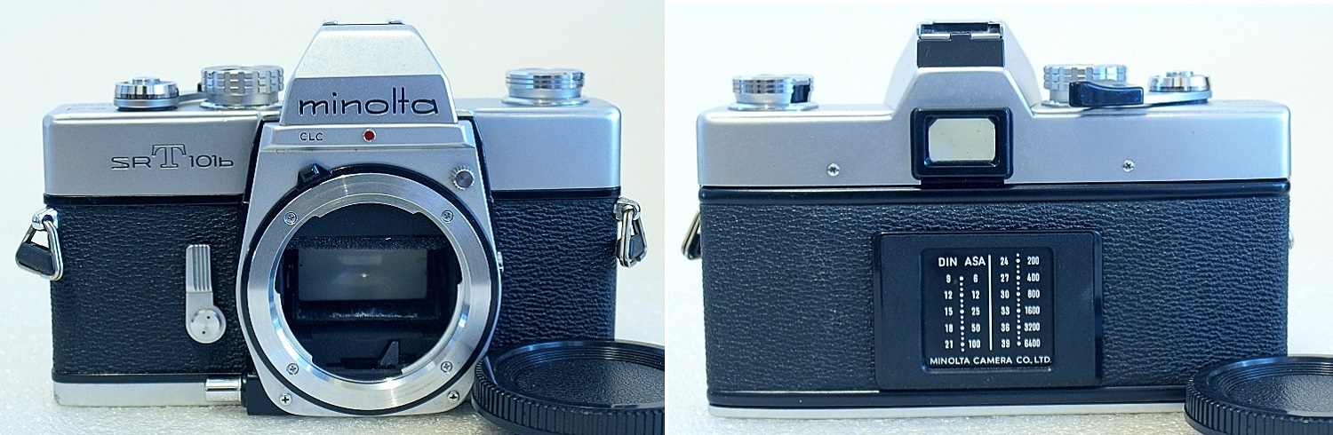 Minolta SRT-101b (Chrome) Body #364
