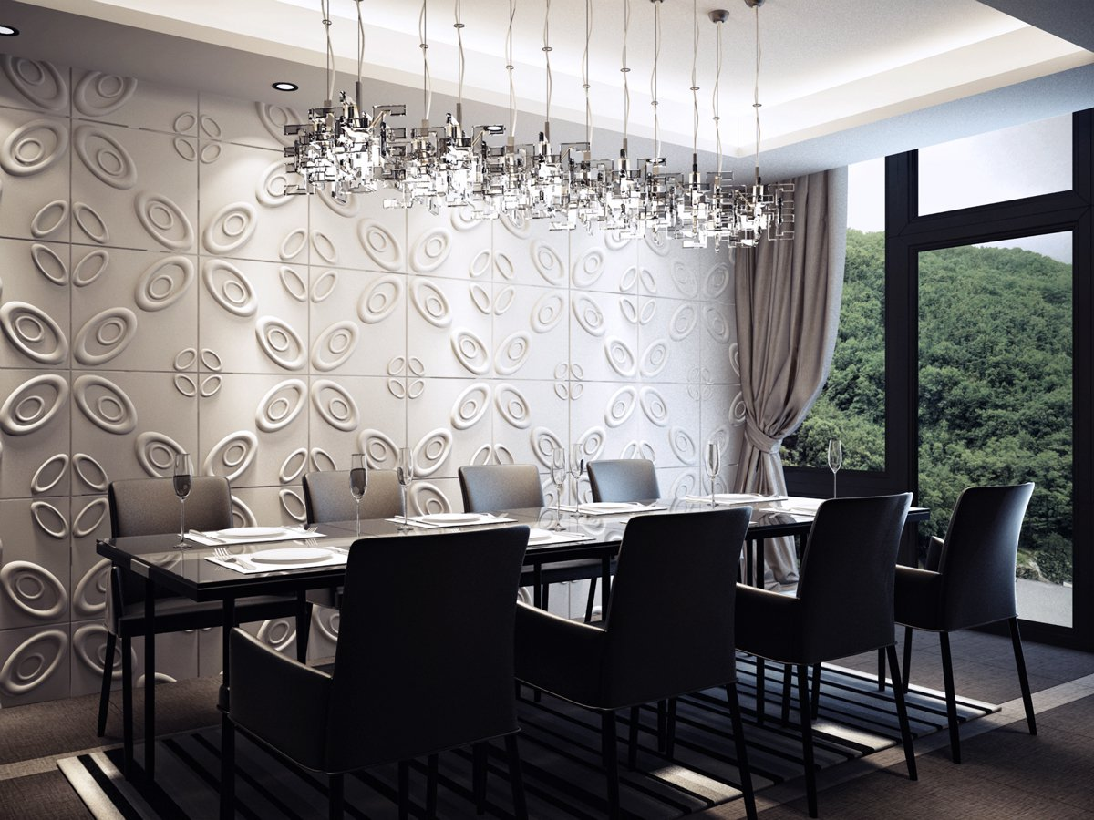 Wall Decor For Dining Room Area: 3D Board Wall Panel By Kreativ Hauz: 3D Board