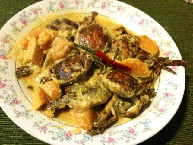 Ginataang Talangka With Kalabasa Recipe