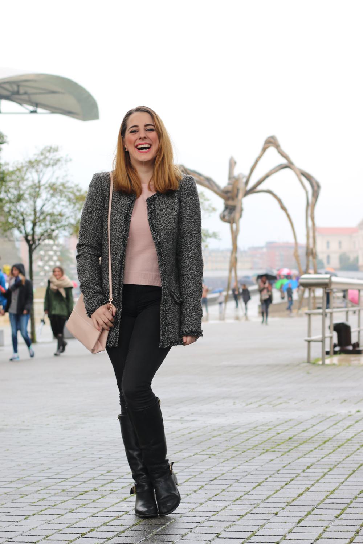 5a83a3a30 Outfit chic y sencillo para un viernes en Bilbao | Me Myself My ...