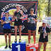 Stacey McMickens 2nd at River Cities Sprint Triathlon