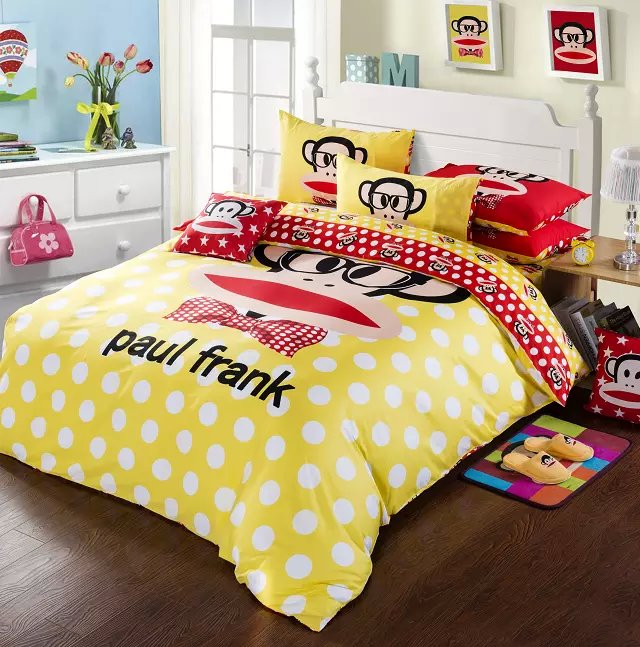 Paul Frank Bedding Is Amazing Here Smile Everyday Like It Do Your Heart The Most Beautiful Now Por 2017 Hot New