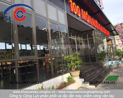 Quy mô của nhà hàng Phố Nướng - Thiên đường món ăn tại Hòn Gai.