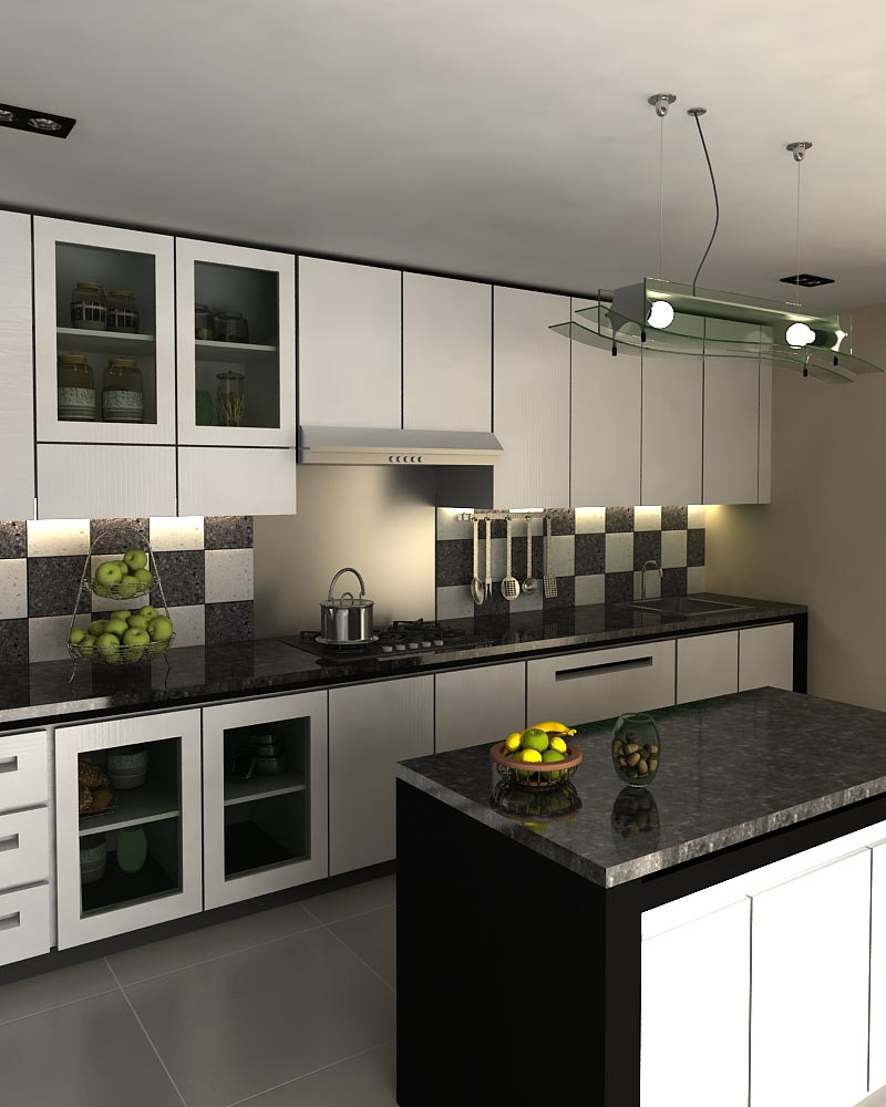 Model Desain Kitchen Set Minimalis Modern