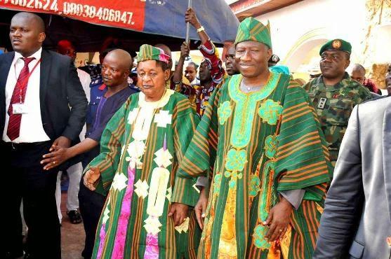 jonathan meets 10 yoruba kings