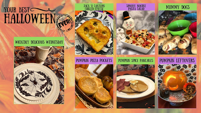 Your Best Halloween Ever, Wickedly Delicious Wednesday Year One Recap, best Halloween recipes