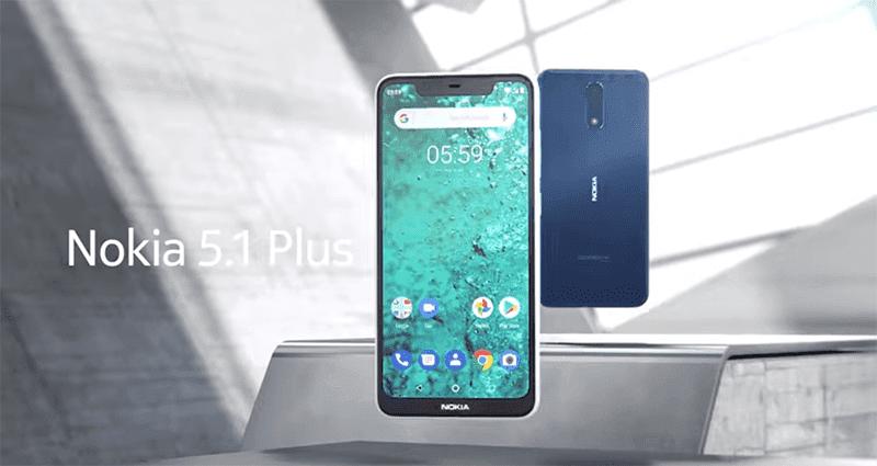 Nokia 5.1 Plus - 5,828 hits as of writing