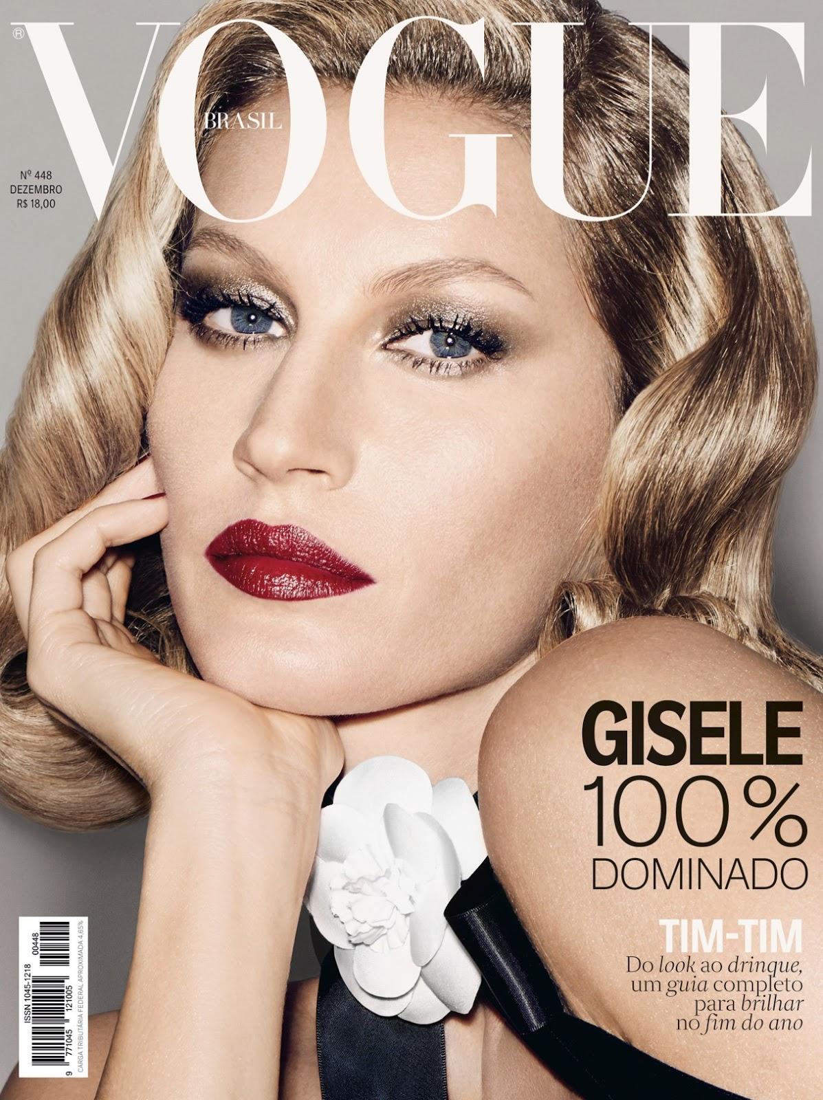 Larissa Brito  Gisele Bundchen  Capa da Vogue Brasil de dezembro 8f8c867854