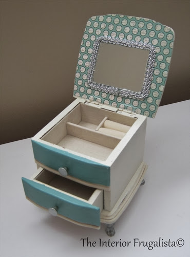 Thrift store jewelry box AFTER Photo 3
