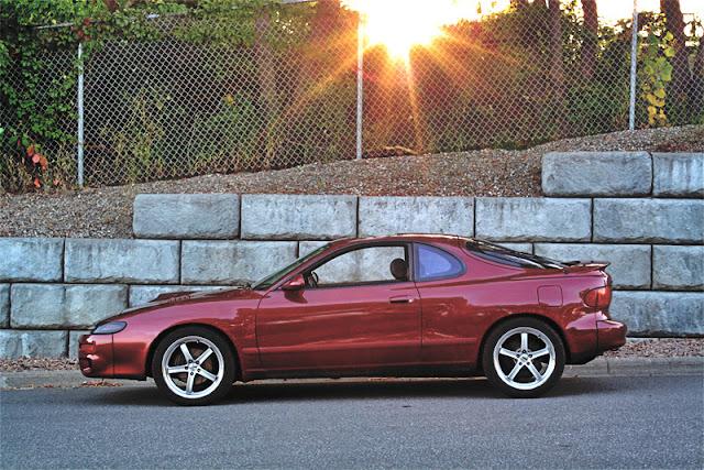 Toyota Celica V, T180, sportowe coupe dla młodego