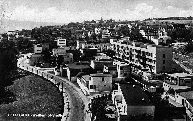 Barrio de Weissenhof by Mies van der Rohe