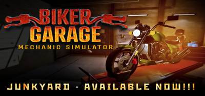 Biker Garage Mechanic Simulator Junkyard-PLAZA