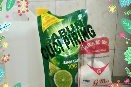 Tips Hemat Sabun Saat Mencuci Piring