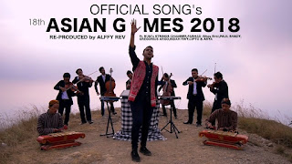 Alffy Rev - Official Song 18th Asian Games 2018 Mash Up