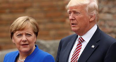 A chanceler alemã Angela Merkel 'não pode se comprometer' a participar da cúpula do G7, organizada pelo presidente Trump devido à pandemia 2