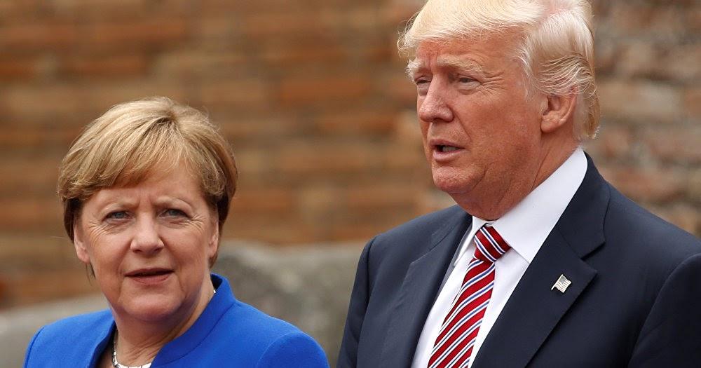 A chanceler alemã Angela Merkel 'não pode se comprometer' a participar da cúpula do G7, organizada pelo presidente Trump devido à pandemia 3