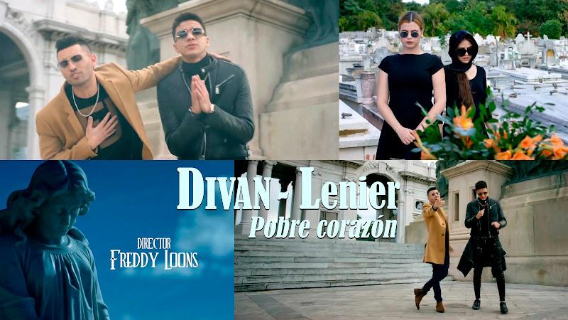DIVAN - LENIER - ¨Pobre corazón¨ - Videoclip - Dirección: Freddy Loons. Portal del Vídeo Clip Cubano
