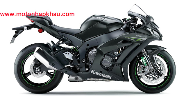 Kawasaki Ninja ZX10R ABS 2016 Đen Xám