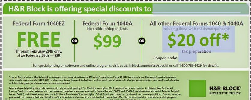 h&r block coupon deluxe
