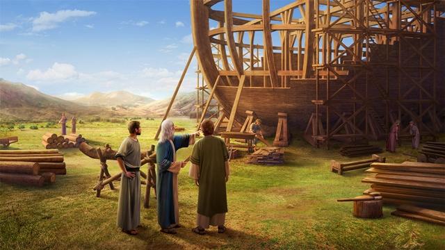Deus Pretende Destruir o Mundo Com Um Dilúvio
