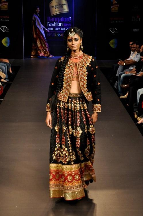 Grand Finale Designer Ritu Kumar At Banglore Fashion Week