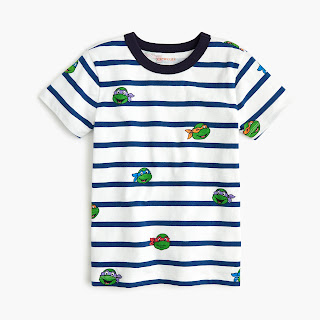 NIck Teenage Mutant Ninja Turtles at Jcrew