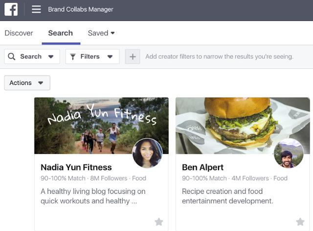 Facebook aposta em plataforma para unir marcas com influenciadores