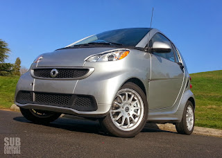 2013 Smart ForTwo in the park