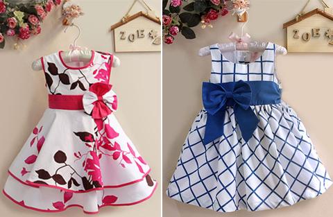 model baju dress anak perempuan