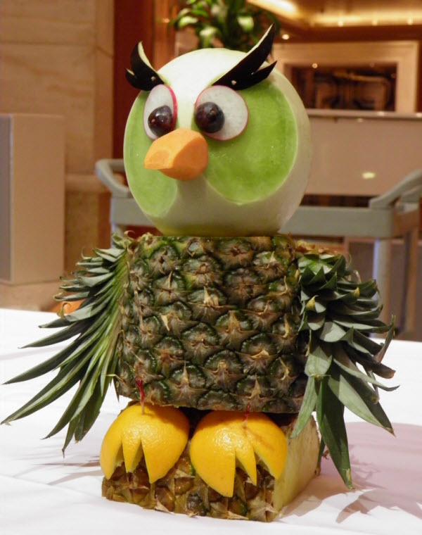 Artistic Fruit Carving All About Photo