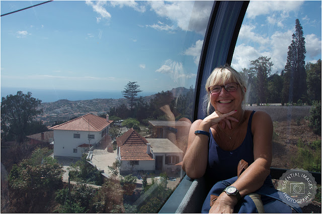 flying high in cable car funchal madeira