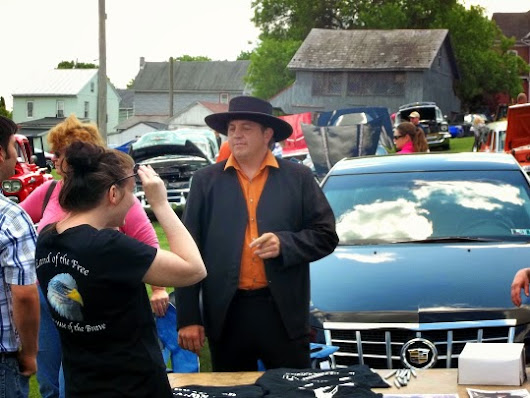 "Lebanon Levi: From the ""Amish Mafia"" TV show at another local car show"