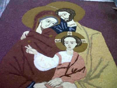 Tapetes para Corpus Christi - Solenidade de Corpus Christi