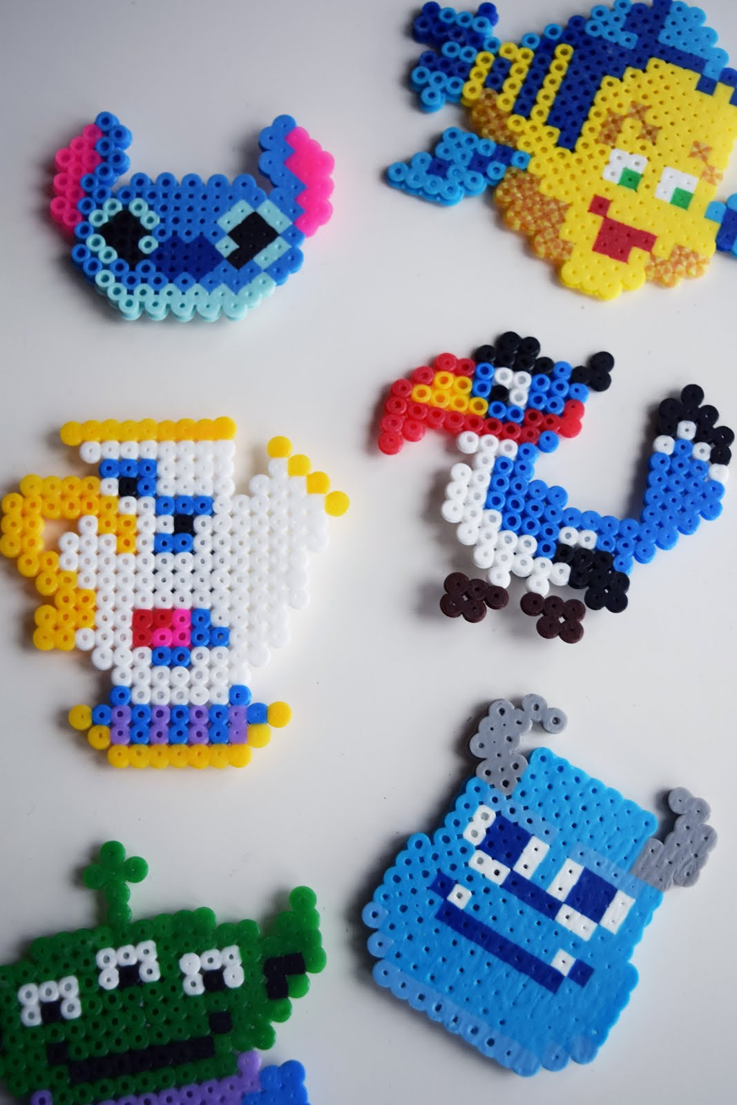 DIY Disney Character Magnets – ariel & alder