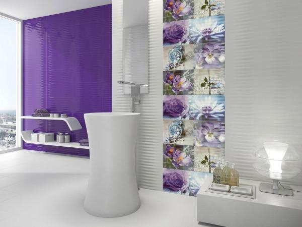 15 ideas originales para decorar paredes de ba os - Pintar paredes originales ...
