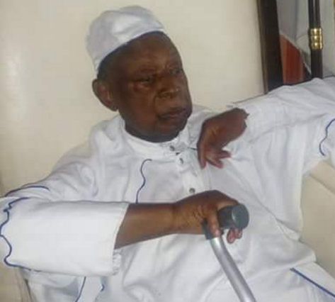baba sala attends white garment church