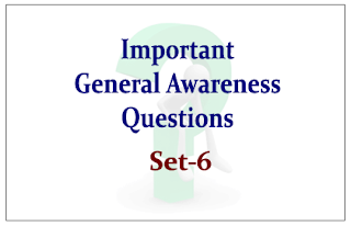 List of Expected General Awareness Questions for Upcoming RBI/IBPS Exams 2015 Set-6