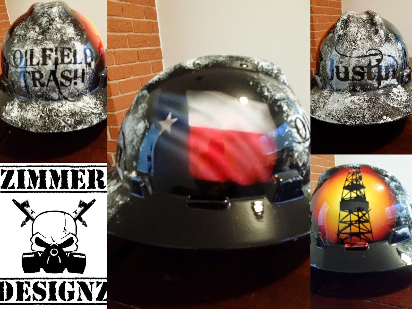 buy online 69bfb e2ab9 ... usa lone star oilfield trash custom hard hat 591eb 70041 ...