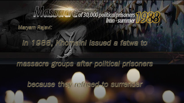 ‎MaryamRajavi ‬paying homage to those who sacrificed their lives for freedom in Iran