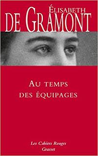 Au Temps Des équipages de Elisabeth De Gramont PDF
