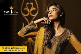 Asim Jofa Eid-ul-Fitr Formal Collection 2017