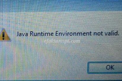 e-Faktur Error Tidak Bisa Dibuka Java Runtime Environment Not Valid