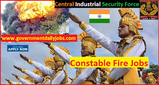 CISF Recruitment 2017 Apply Online 487 Constable/Fire Posts